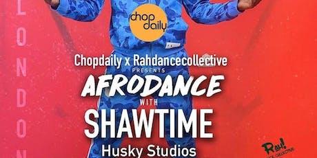 "Chop Daily x Rah Dance Collective presents ""Shawtyme"" Dance Class tickets"
