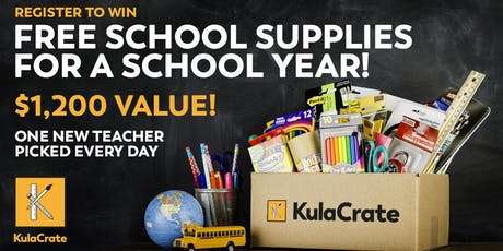 Free School Supplies for a Year tickets