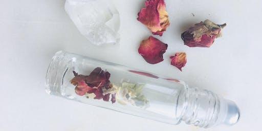 DIY Pure Perfume & Bath Salts
