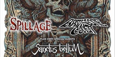 Mercyful Mike Presents: Spillage, Brimstone Coven, Sanctus Bellum tickets