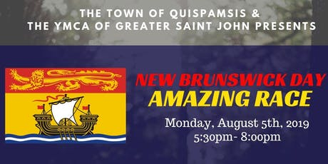 New Brunswick Day AMAZING RACE tickets