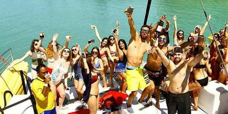 All Inclusive VIP Party Boat Miami tickets