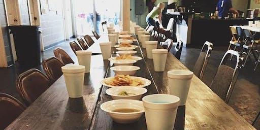 October Community Meals