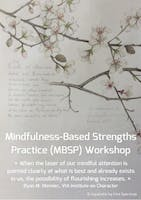 Free Info Session: Mindfulness-Based Strengths Practice (MBSP)