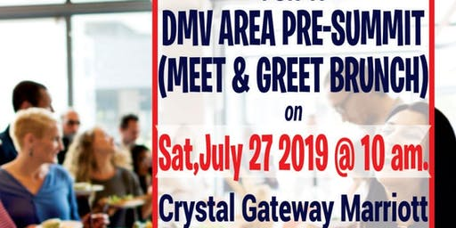 DMV AREA PRE-SUMMIT 'MEET & GREET' BRUNCH