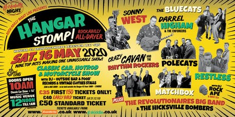 The Hangar Stomp - All-Dayer tickets