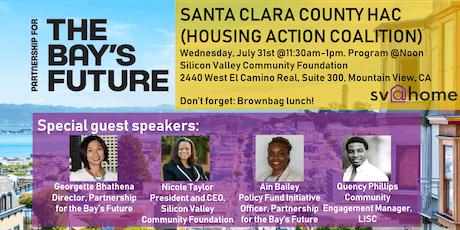 Santa Clara County HAC - Partnership for the Bay's Future tickets