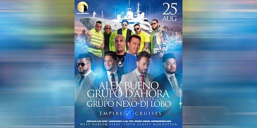 Boat Party con DJ Lobo, Alex Bueno, Grupo D'Ahora y Grupo Nexo
