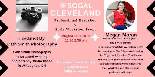 SoGal Cleveland Professional Headshot  &  Style Workshop Event