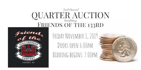 2nd Annual Quarter Auction tickets