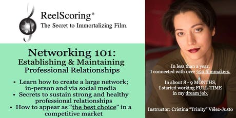 Networking 101: Establish & Maintain Professional Relationships tickets