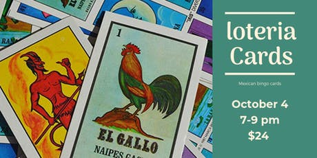 Loteria Cards in Bedford tickets