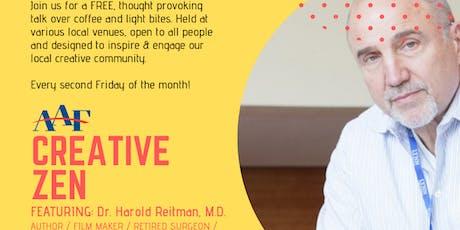 """AAF Creative Zen Presents Dr. Harold """"Hackie"""" Retiman (August 2019) tickets"""