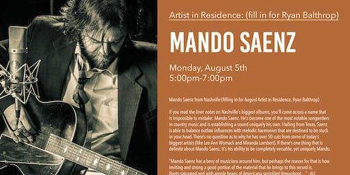 Mando Saenz from Nashville - Live Music