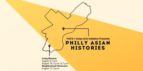 Philly Asian Histories: The Living Museum tickets