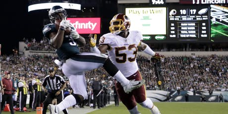 Eagles vs Redskins All Inclusive Tailgate Party tickets