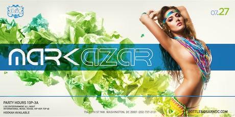 Saturday Dance Party at SAX W/ DJ MARK AZAR tickets
