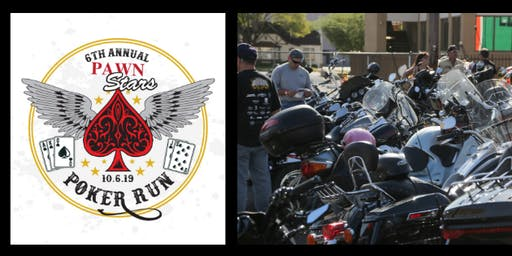 6th Annual Pawn Stars Poker Run Benefitting the Epilepsy Foundation of Nevada