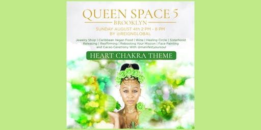 Green Queen Space: Jewelry Pop-Up and Healing Circle 5