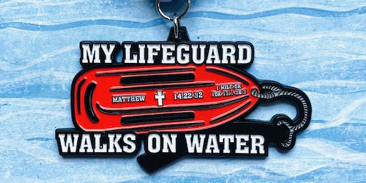 Only $12! My Lifeguard Walks On Water 1 Mile, 5K, 10K, 13.1, 26.2- Huntington Beach