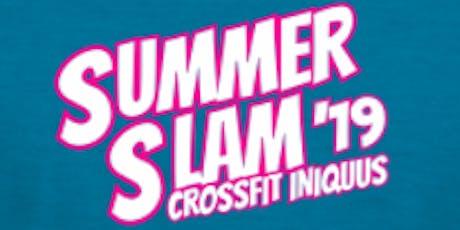 Summer Slam '19 tickets