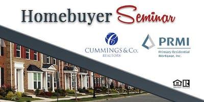 Home Buying Seminar w/ PRMI & Cummings & Co.
