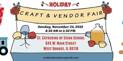 St. Catherine of Siena's Holiday Craft & Vendor Fair!