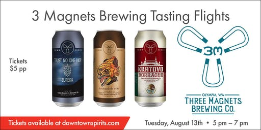 3 Magnets Brewing Tasting Event