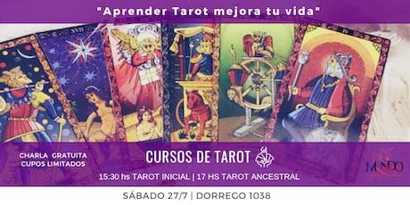 Cursos de Tarot Marsella y Tarot Ancestral -  Charla gratuita entradas
