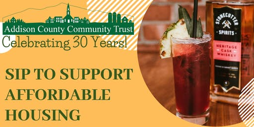 Sip to Support Affordable Housing