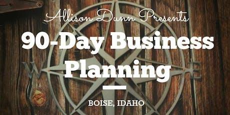 90-Day Business Planning Q4 Workshop tickets