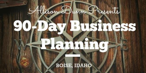 90-Day Business Planning Q3 Workshop