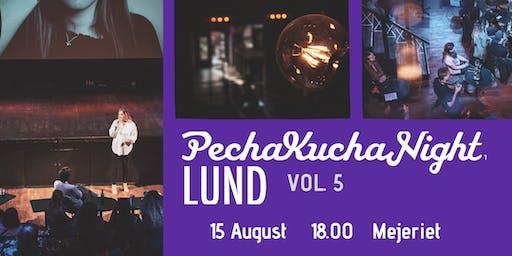 PechaKucha Night Lund VOL5