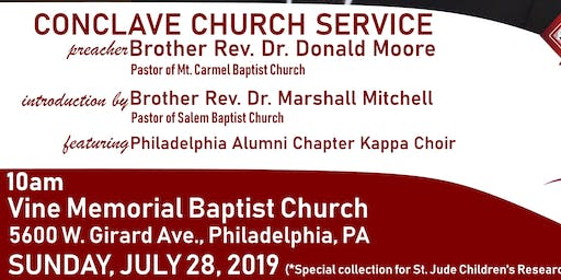 Conclave 2019 Church Service