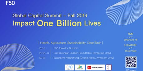 Global Capital Summit - Fall 2019 boletos