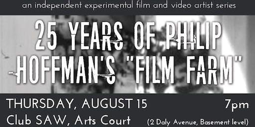 "Café Ex: 25 Years of Philip Hoffman's ""Film Farm"""