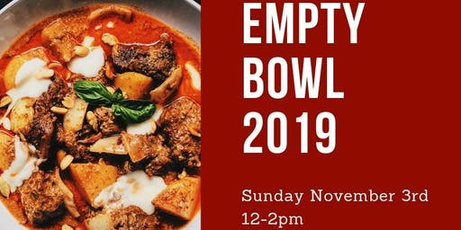 9th Annual Empty Bowl Fundraiser