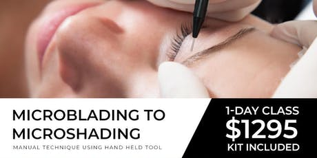Micoblading to Microshading  Dallas | October 20 ( One Day) tickets