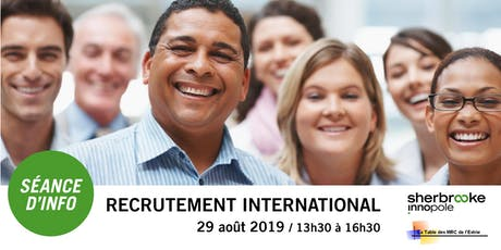 Séance d'info | Recrutement international à Paris et en Tunisie billets