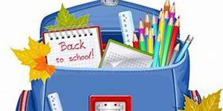 Monthly Kindness Project - Back to School tickets
