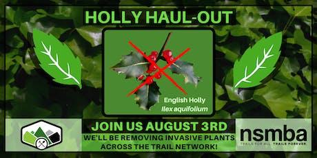 NSMBA Holly Haul-out tickets