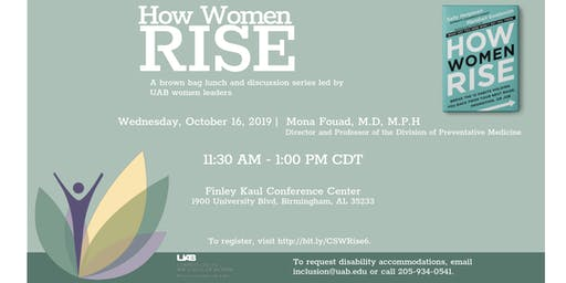 How Women Rise, hosted by the UAB Commission on the Status of Women