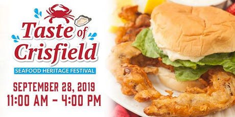 Taste of Crisfield tickets