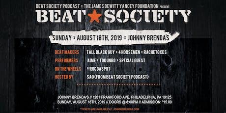 Beat Society tickets