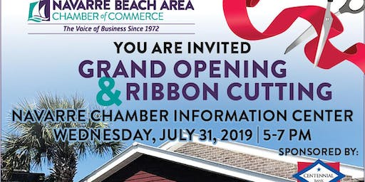 Grand Opening of The Navarre Chamber Information Center