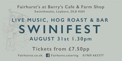 Swinifest - live music, hog roast and bar