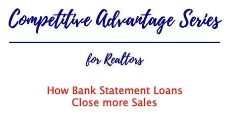 Competitive Advantage Series: Close more Sales with Alternative Financing tickets