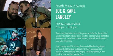 Joe and Karl Langely - Live Music tickets