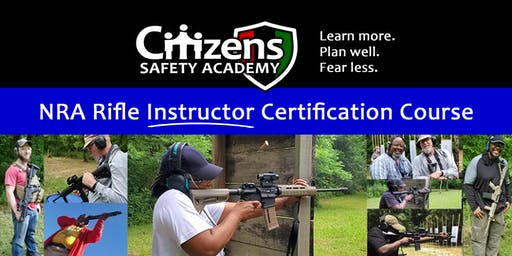 NRA Rifle Instructor Certification Course
