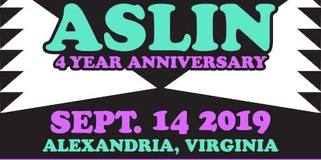 Aslin 4th Anniversary tickets